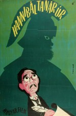 Hannibál tanár úr (1956) afişi