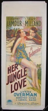 Her Jungle Love (1938) afişi