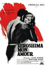 Hiroşima Sevgilim (1959) afişi