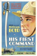 His First Command (1929) afişi