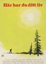 Här har du ditt liv (1966) afişi