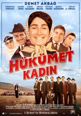 Hükümet Kadın (2012) afişi