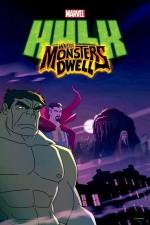 Hulk: Canavarlar Nerede Yaşar (2016) afişi