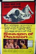 İhtiras Mevsimi (1959) afişi