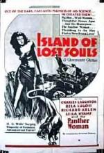Kayıp Ruhlar Adası (1932) afişi
