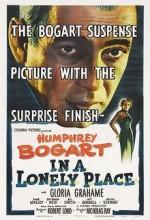 Issız Bir Yerde (1950) afişi