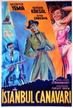 İstanbul Canavarı (1953) afişi