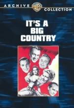 It's A Big Country (1951) afişi