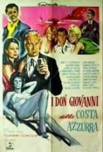 ı Dongiovanni Della Costa Azzurra (1962) afişi