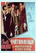 I Met Him in Paris (1937) afişi
