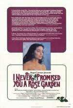 Sana Gül Bahçesi Vadetmedim (1977) afişi