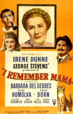 I Remember Mama (1948) afişi