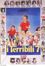 I terribili 7 (1963) afişi