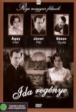 ıda Regénye (1934) afişi