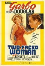 iki Yüzlü Kadın (1941) afişi