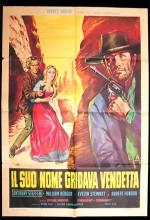 Il Suo Nome Gridava Vendetta (1968) afişi