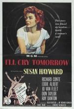 I'll Cry Tomorrow (1955) afişi