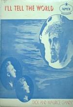 I'll Tell The World (1934) afişi