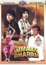 Immaan Dharam (1977) afişi