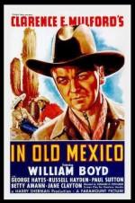In Old Mexico (1938) afişi