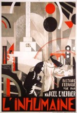 The Inhuman Woman (1924) afişi