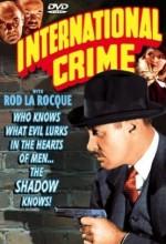 International Crime (1938) afişi