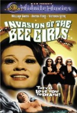 Invasion of the Bee Girls (1973) afişi