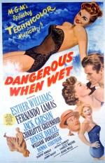 Islakken Tehlikeli (1953) afişi