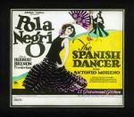 İspanyol Dansçı (1923) afişi