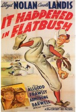 ıt Happened In Flatbush (1942) afişi