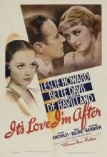 ıt's Love ı'm After (1937) afişi