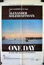 İvan Denisoviç'in Hayatında Bir Gün (1970) afişi