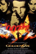 James Bond: Golden Eye (1995) afişi