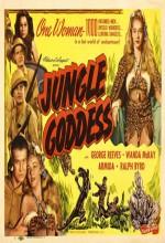 Jungle Goddess (1948) afişi