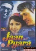 Jaan Se Pyaara (1992) afişi