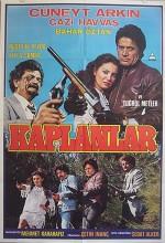 Kaplanlar (1985) afişi