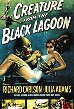 Kara Gölün Canavarı (1954) afişi
