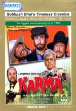 Karma (1986) afişi
