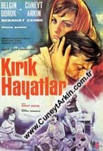 Kırık Hayatlar (1965) afişi