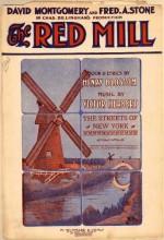 Kırmızı Mill (1927) afişi