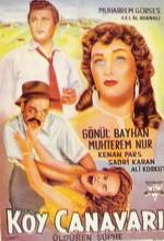 Köy Canavarı (1956) afişi