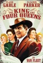 Kral Ve Dört Kraliçe (1956) afişi