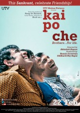 Kai Po Che (2013) afişi