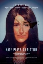 Kate Plays Christine (2016) afişi