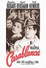 Kazablanka (1942) afişi