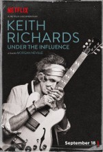 Keith Richards: Under the Influence (2015) afişi