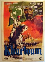 Khartoum (1966) afişi
