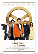 Kingsman: Altın Çember (2017) afişi