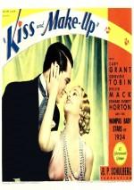 Kiss and Make-Up (1934) afişi