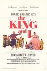 Kral Ve Ben (1956) afişi